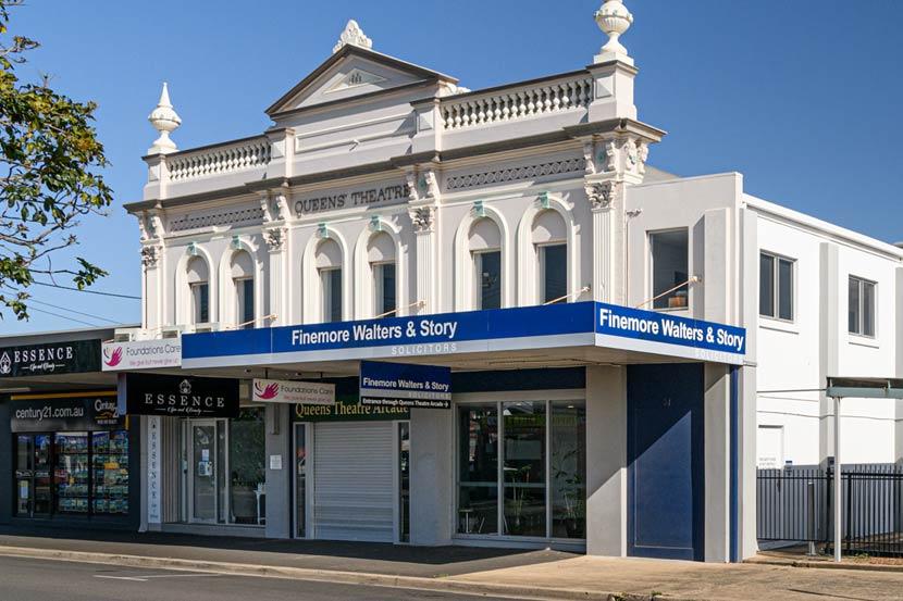 Finemore Walters & Story office in Bundaberg